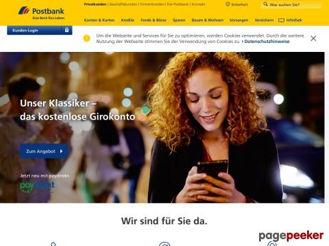 Union online western postbank BWESTERNb MONEY