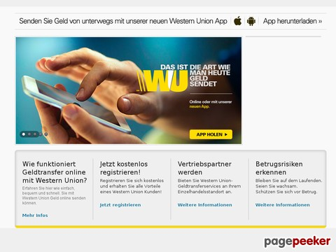 Online postbank western union Mobile Banking